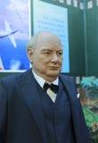 Winstons Churchill vaxdiagram Arkivfoton