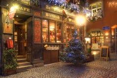 Winstub i Strasbourg Royaltyfri Foto