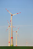 Wint turbines. Stock Photo