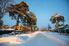 winter сельский Россия Стоковые Фото