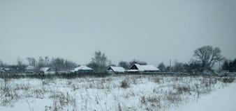 winter сельский Стоковые Фотографии RF