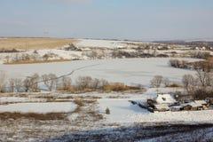 winter сельский Стоковое Изображение RF