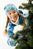 In winter Royalty Free Stock Photo
