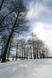 Winter. Pennsylvanie lanscape under the snow Stock Photo