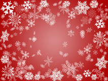Winter 2 in red Stock Image