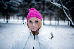 In winter Royalty Free Stock Images