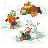 Winter lizenzfreie abbildung