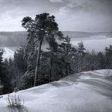 Winter. Swedish winter stock image