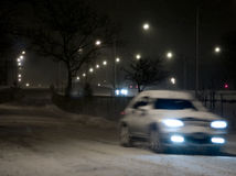 Winter. Road Royalty Free Stock Images