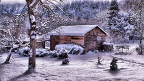 Winter 2016 Lizenzfreies Stockfoto