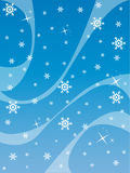 Winter. Abstract illustration, christmas design with graphic shapes Royalty Free Stock Photo