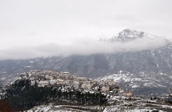 Winter in Abruzzo Stock Image