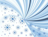 Winter abstract Stock Image
