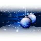 Winter abstract background Stock Photography