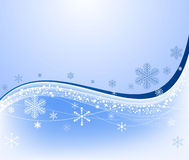 Winter abstract background Stock Image