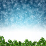 Winter abstract background. Stock Photography