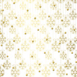 Winter abstract background, christmas stars. With snowflakes Royalty Free Stock Image
