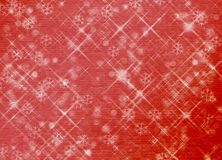 Winter abstract background, christmas stars. With snowflakes Royalty Free Stock Photography