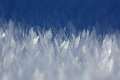 Winter abstract background for design Royalty Free Stock Image