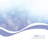 Winter abstract background Royalty Free Stock Photo