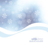 Winter abstract background Stock Photos