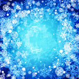 Winter abstract frozen background Royalty Free Stock Image