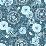 Winter abstract pattern Royalty Free Stock Images