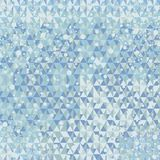 Winter geometric background Royalty Free Stock Photo