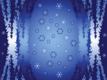 Winter abstraction Royalty Free Stock Image