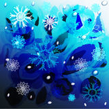 Winter abstraction. Royalty Free Stock Image