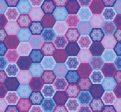 Winter abstraction seamless pattern Stock Photography