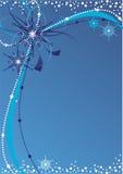 Winter-abstrakter Hintergrund Stockbilder