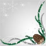 Winter-abstrakter Hintergrund Stockfoto