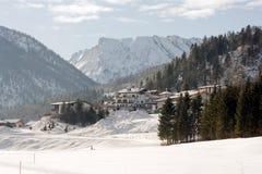 Winter in Achenkirch Stockfotos