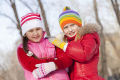 Winter activities Royalty Free Stock Images