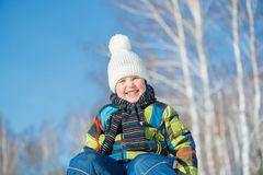 Winter activity Royalty Free Stock Photos