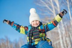 Winter activity Royalty Free Stock Image