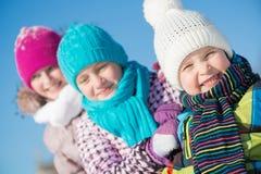 Winter activity Royalty Free Stock Photography