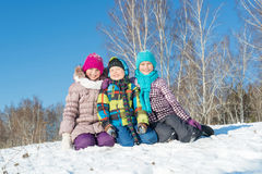 Winter activity Stock Photography