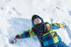 Winter activity Royalty Free Stock Images