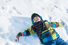 Winter activity Royalty Free Stock Photos