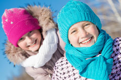 Winter activity Stock Image