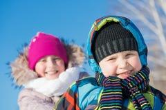 Winter activity Stock Image