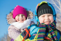 Winter activity Royalty Free Stock Photography