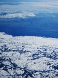Winter Aerial Royalty Free Stock Photo