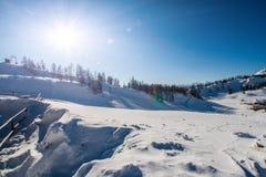 Winter-Alpen Lizenzfreie Stockfotografie