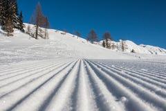 Winter-Alpen Stockbilder