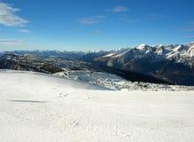 Winter alpin lizenzfreies stockfoto