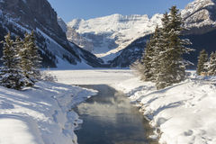 Winter Alpine River Royalty Free Stock Images