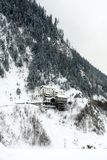 Winter Alpine Scene, Italy Stock Image